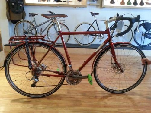 Jamis Aurora Elite, on display at Bicycle Space