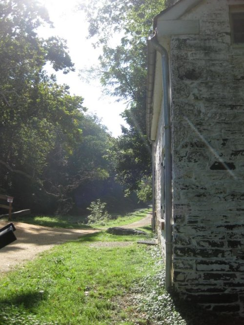 Lock house wall