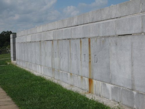 Eternal Peace Light Memorial (Detail)