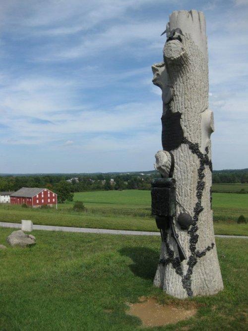 More creepy monuments.